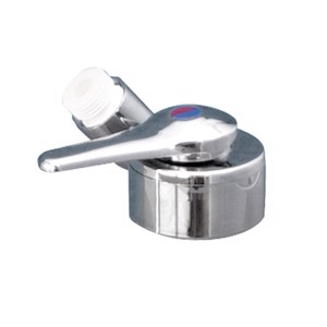 Table-top mixer Twist chrome with switch SB Uni Quick 12mm