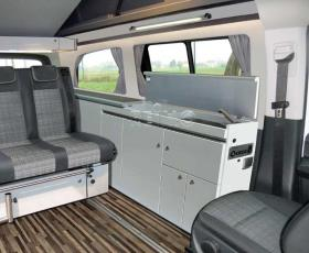 Furniture line as finished part without technology Mercedes Vito long CityVan