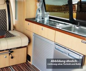 Furniture line VW T5/T6 KR TrioStyle, apple wood finish; kit without roller blin