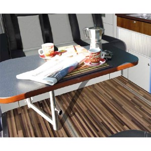 Table system for extension TrioStyle Ford Transit Custom KR
