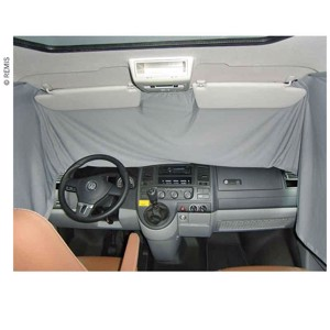 curtain cab grey opaque Mercedes Vito/Metris