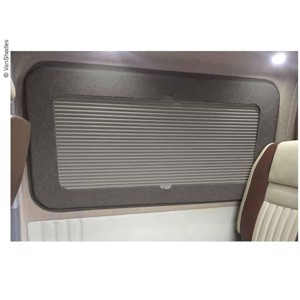 Living room darkening blind VW T5/T6, right rear, thermo, grey
