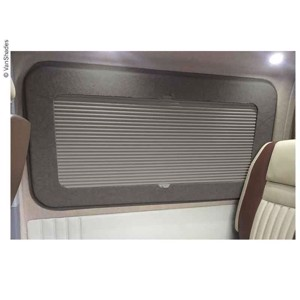 Living area blackout blind VW T5/T6, left behind, thermo, grey