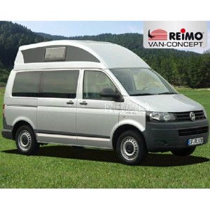 VW T6, VW T5 high top roof Sportline, SWB, from 2003, white