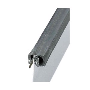 Sealing profile universal, with side bead