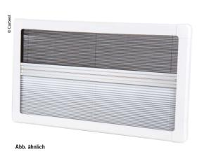 Carbest Caravan Blind, Pleated Blind - with Flyscreen RW Eco 1000x500