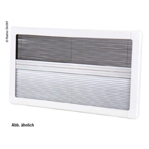 Carbest Blackout Pleated Blind and Flyscreen for RW Rear 735x560
