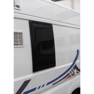 Externally fitted hinged window for Ducato 2007 566 x 638 mm