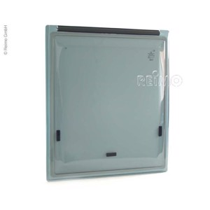 Suspended display window. Ducato 2007, 566x650mm, frosted glass black