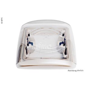 Replacement glass for Vision Vent S eco 28x28cm smoked glass