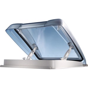 MPK Rooflight VisionStar M pro 40x40cm, LED, Smoked Glass, Doube Pleated