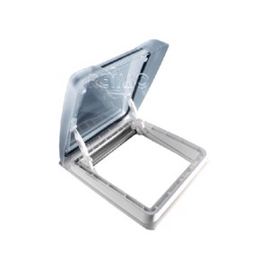 MPK Rooflight Vision Star M pro 40x40, Smoked Glass, White Innerframe