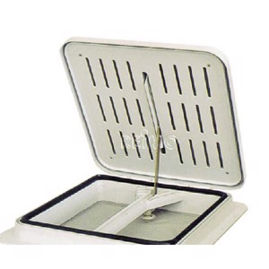 Hatch cover glass white for roof hatch cover 40 x 40 cm