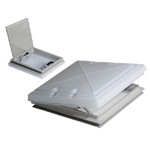 MPK Rooflight 400x400mm with Opal Glass and Flyscreen