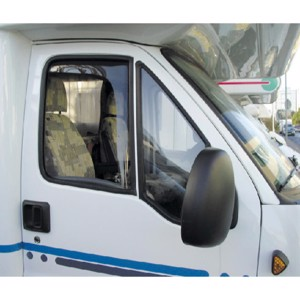 Wind deflector driver/passenger door - fresh breeze without draughts
