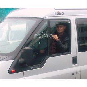 Wind deflector driver/passenger door for Ford Transit Custom from 2013