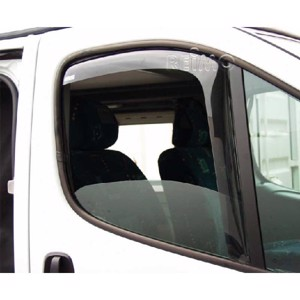 Wind deflector driver/passenger door for Renault Master/Opel Movano from 2011