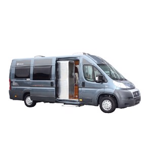 dhermovorhang sliding door Ducato X250/290, boxer, jumper, colour: light grey
