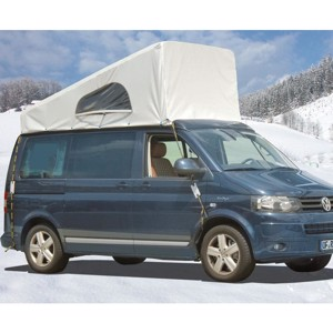VW T6, VW T5 weather protection cover for pop top roof SCA, from 2013, front up