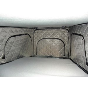 Thermo mats for folding roofs, VWT5 short