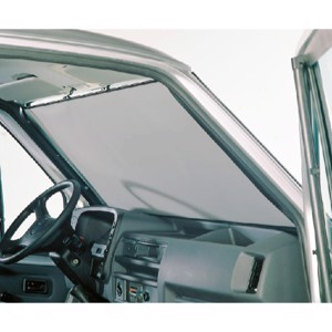 Windscreen roller blind Ducato from 1994-2006 Colour: light grey