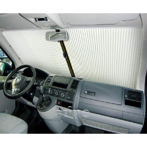 REMIfront windscreen blind VWT5, grey