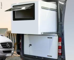 Wall Slide Out System for Mercedes Sprinter, without walls