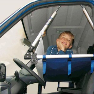 Cradle for the driving cab 75x150cm