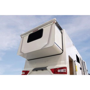 Special awning SlideOut 170 - The awning for mobile vehicle walls