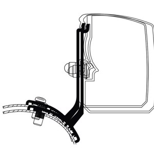 Thule awning 3200, Adapter Ford Trafic/Vivaro/Talento NV300 Fixed