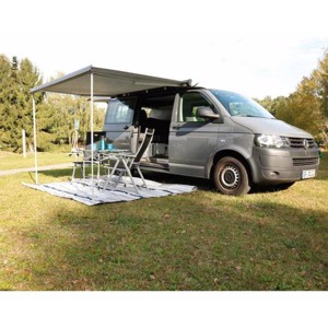 Awning Omnistor4900f.VWT5+6,with adapter,for multirail,housing:anthracite