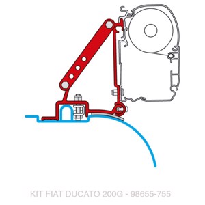 FIAMMA Adapter for F45i/F45iL Ducato from year of construction 07/2006