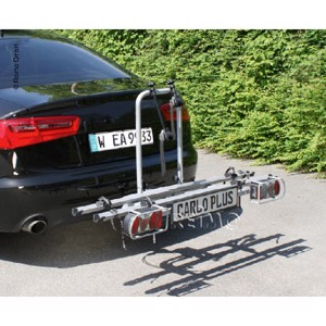 Bike carrier Carlo Plus, silver