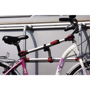 Rail Premium S bicycle rail, silver
