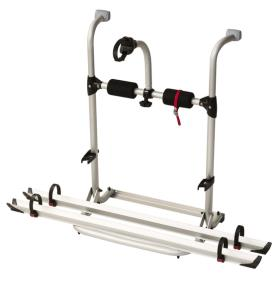 Bicycle carrier for motorhomes for 2 bicycles