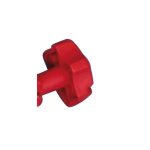 Edge screw red