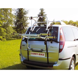Alu rear carrier Carry Bike for 2 bicycles