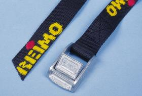 Reimo lashing strap with stable metal buckle