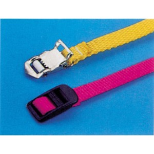 Bicycle belt with nylon clasp