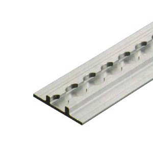 Construction-system track 2000x65x11mm, alum. F35