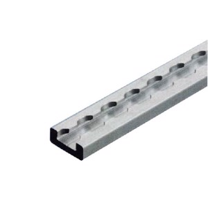 Construction-system track 2000x34,5x13,5mm, alum.F3