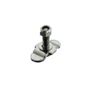 Bolted fitting with nut M8, clamping area 0-27mm