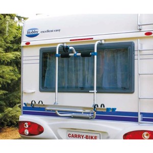 Caravan rear carrier for Hobby from 03 for 2 wheels, max. load 50kg