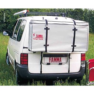 Fiamma Transportation Box Black/Grey 120x70x35 cm
