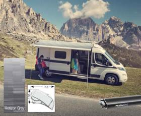 Dometic roof awning Perfect Roof 2000 L:2,65m Fabric colour: Horizon grey