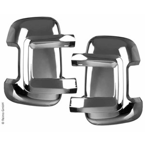 Mirror protector set Fiat Ducato, long version, chrome