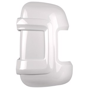 Mirror protector set Fiat Ducato, short Verion, white
