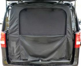 Mosquito net Mercedes Vito tailgate with blackout