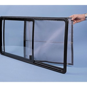 Mosquito net for VW T4 Kombi-Bus sliding window for models up to 2003
