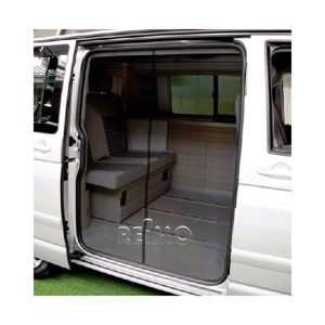 Mosquito net for sliding door VWT5 from 2010 California with comfort fairing